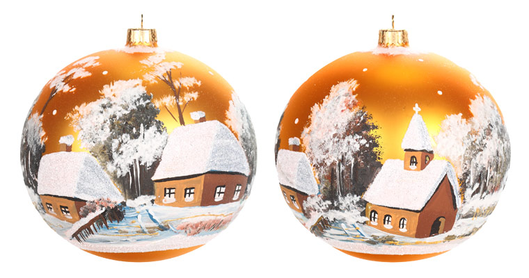 Photo On Christmas Ornament