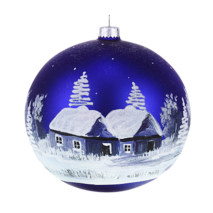 single glass ball ornament